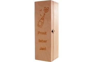 Geschenkbox Wein klappbar